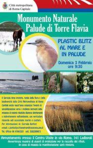 Ladispoli, a Torre Flavia arriva il Plastic Blitz al mare e in Palude