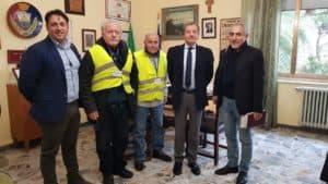 Santa Marinella, Tidei presenta i Nonni Vigili alla città