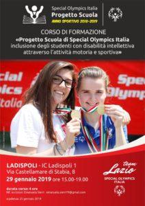 L'IC Ladispoli1 promuove il progetto nazionale 'Special Olympics'