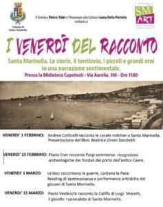 Santa Marinella, torna il 'Venerdì del Racconto' in Biblioteca