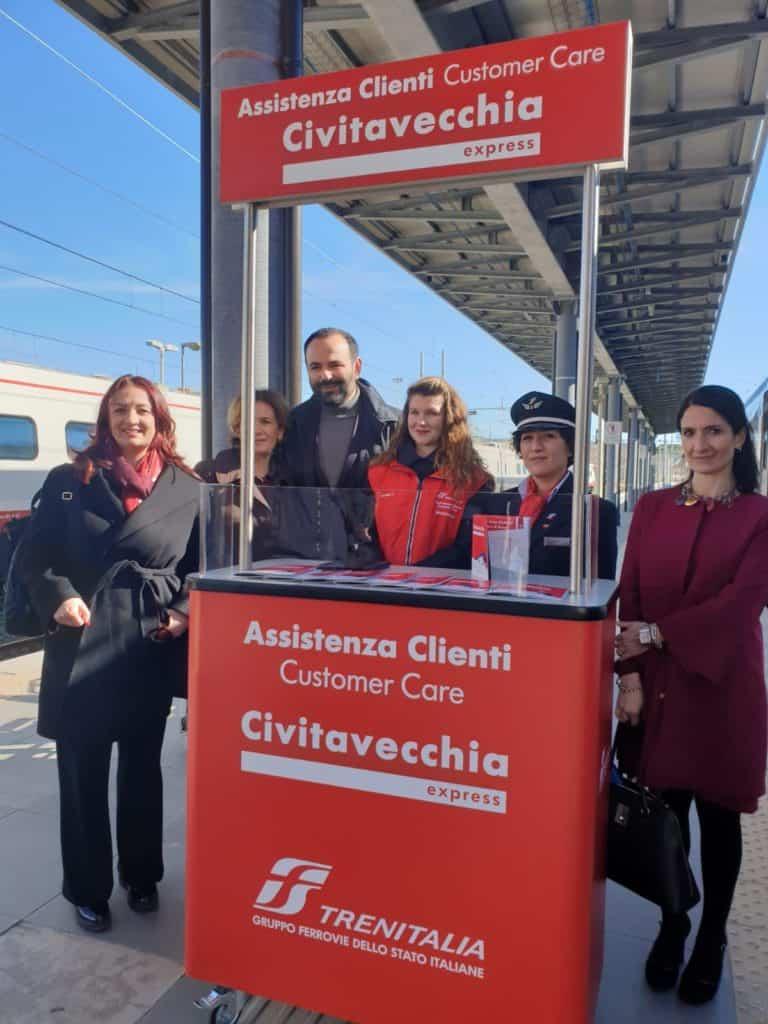 """""""L'arrivo del treno per i crocieristi a Civitavecchia rappresenta un risultato importante"""""""