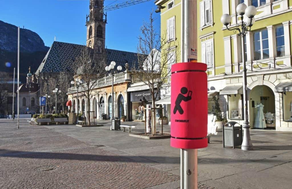 Stay Smart, a Bolzano i pali coi paracolpi