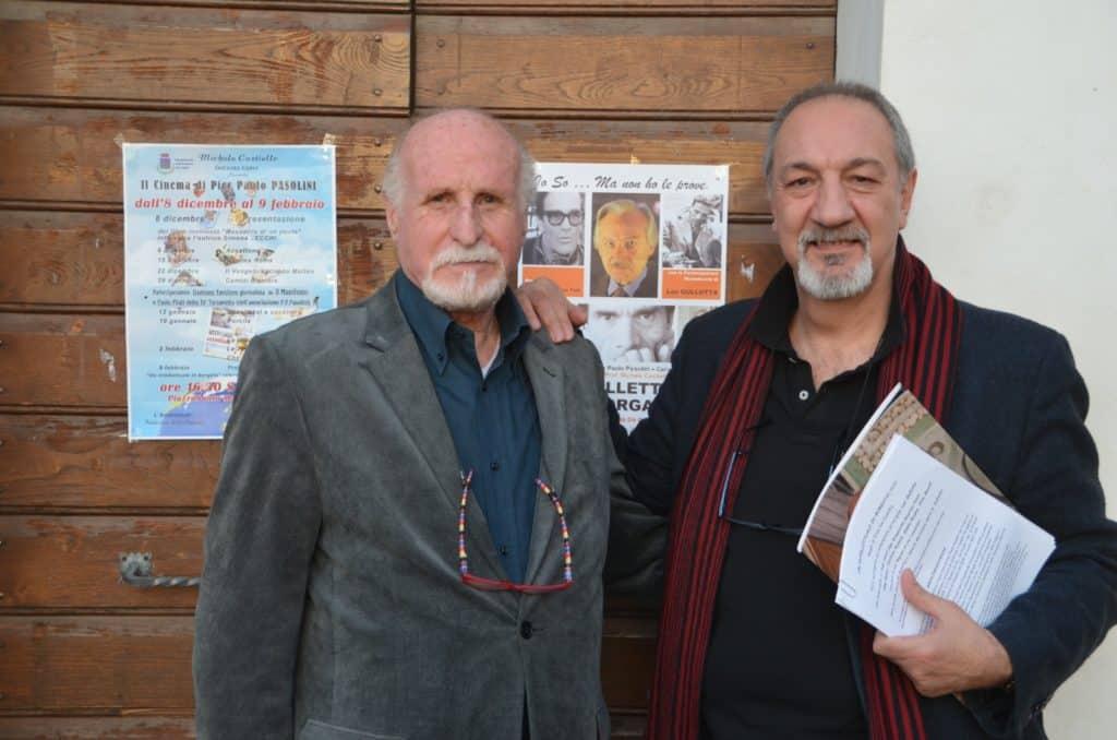 Cerveteri, rassegna Pasolini: grande successo per l'incontro con il regista De Camillis