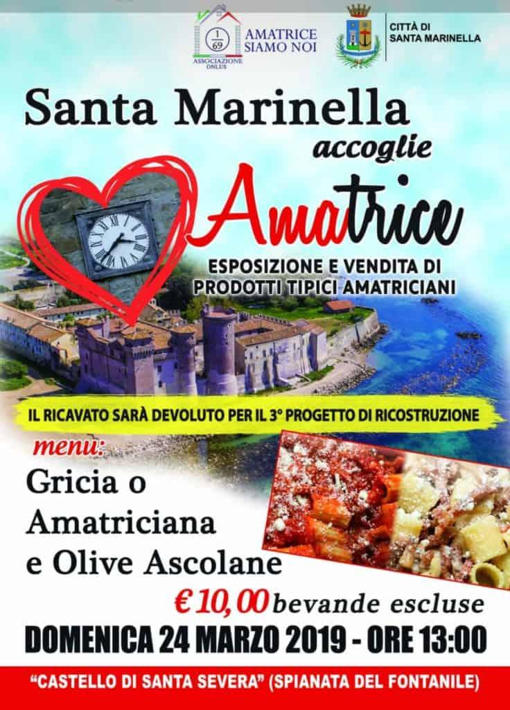 Santa Marinella accoglie Amatrice