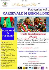 Il Carnevale di Ronciglione: gita in pullman con 'I Servitori dell'Arte'