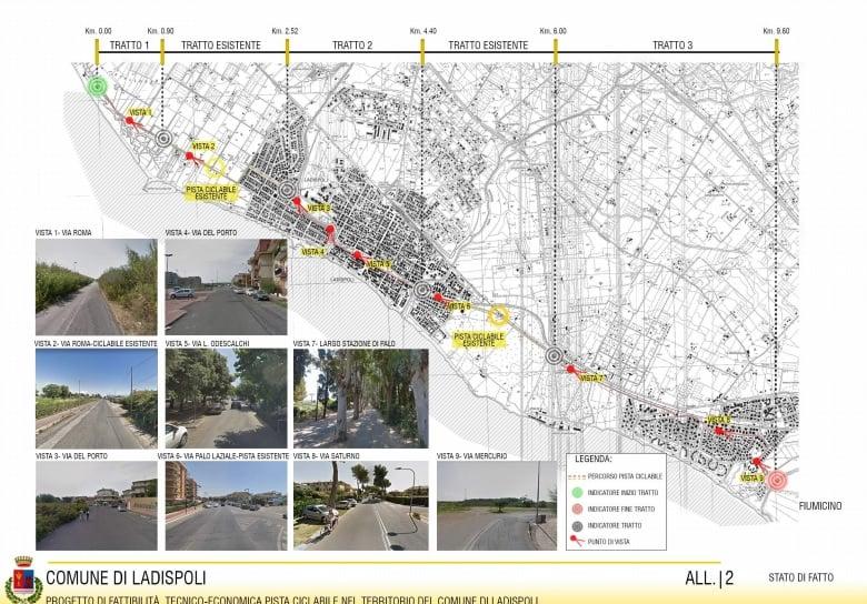 Da Civitavecchia a Fiumicino in bici