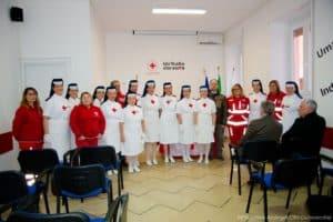 CRI Civitavecchia, la Cerimonia della Lampada dà il benvenuto a quattro nuove Crocerossine