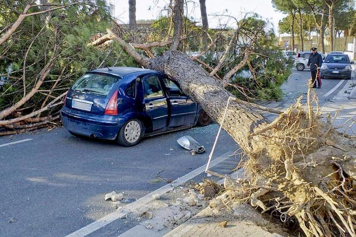Freddo e raffiche di vento. Tre morti nel Lazio