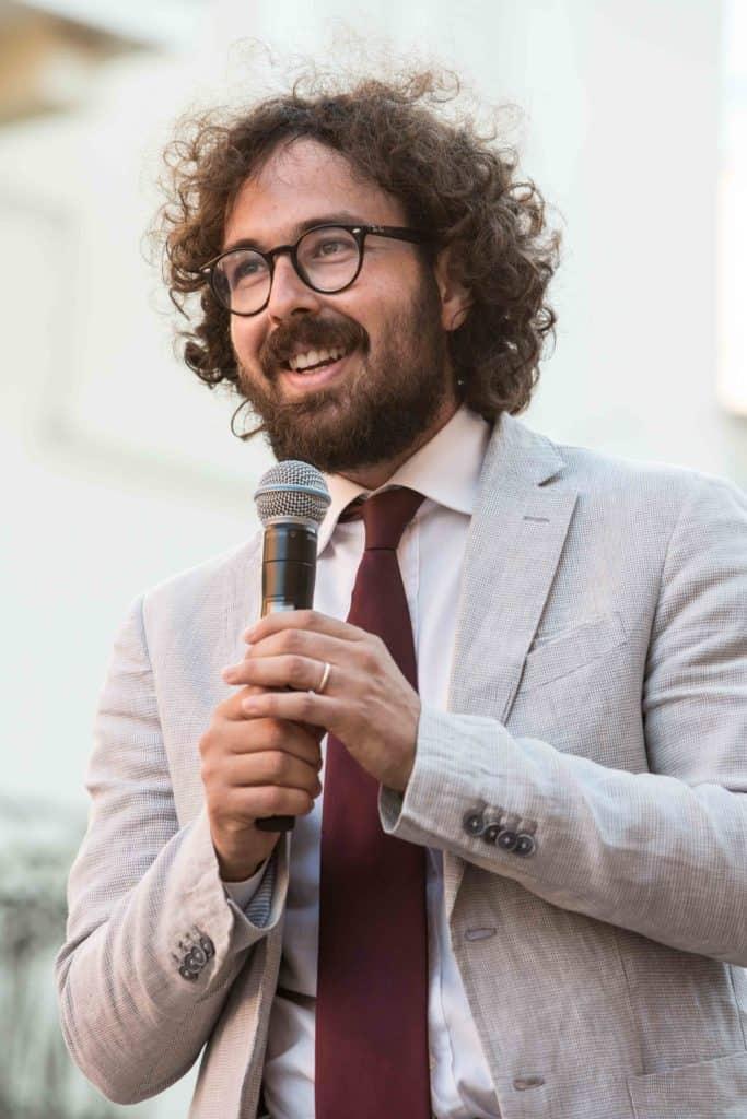 Alessio Pascucci, sindaco di Cerveteri