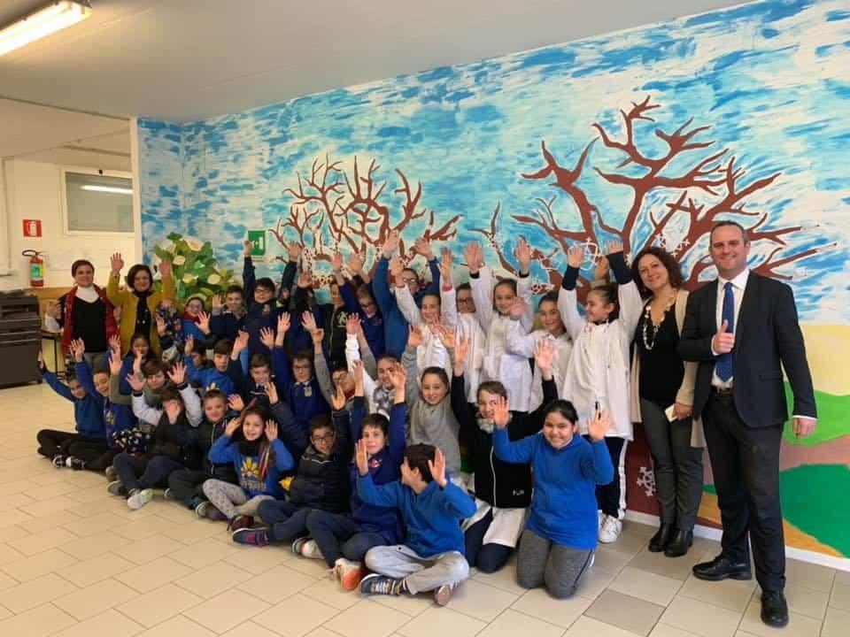 L'onorevole Battilocchio incontra gli alunni e docenti di Cerveteri