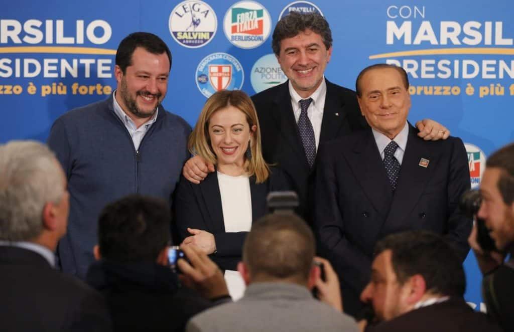 Abruzzo, vince il centrodestra. Marsilio Governatore