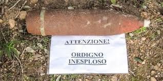 Civitavecchia, ordigno bellico rinvenuto alla Frasca (foto di repertorio)
