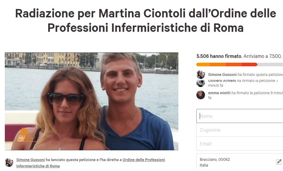 Caso Vannini, la redazione di Nurse Times apre una petizione per la radiazione di Martina dall'ordine degli Infermieri