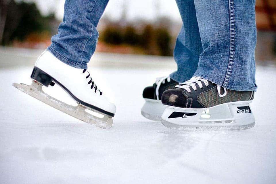 Ladispoli, a San Valentino si pattina sul ghiaccio