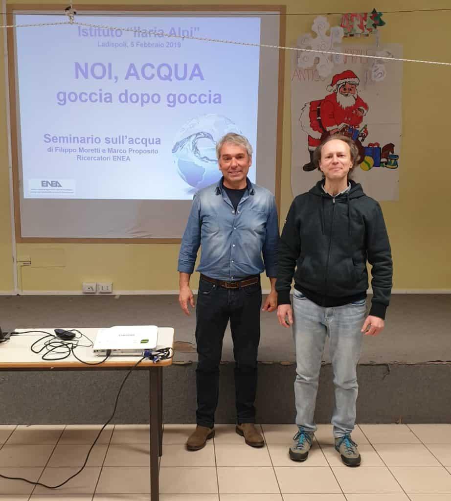 """""""Noi, acqua. Goccia dopo goccia"""", seminario all'IC Ilaria Alpi di Ladispoli"""