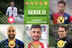 Serie D: vota il miglior calciatore della 27° Giornata del Girone