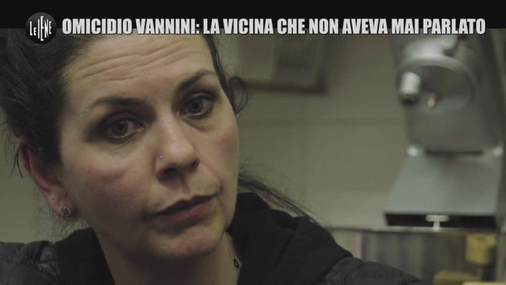 Parla Maria Cristina una vicina di casa della famiglia Ciontoli