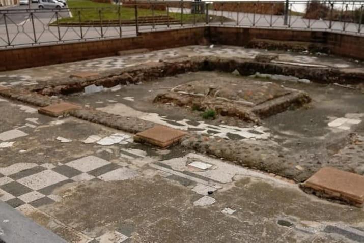 La Villa Romana in balia delle intemperie