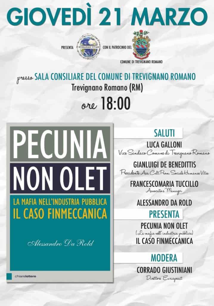 """""""Pecunia non olet – la mafia nell'industria pubblica, il caso Finmeccanica"""""""