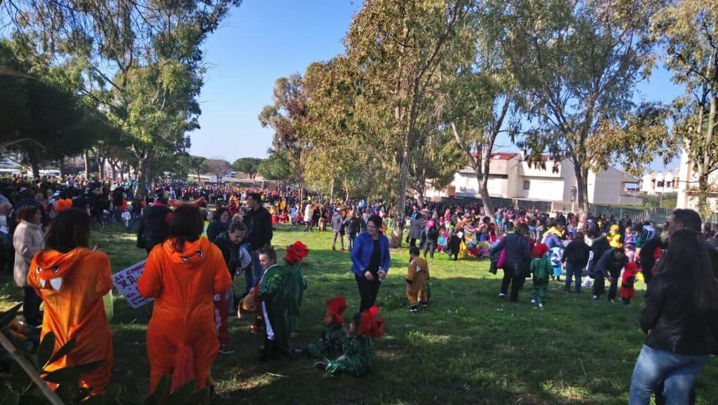 Santa Marinella, tremila persone affollano il Parco Saffi per festeggiare il Carnevale