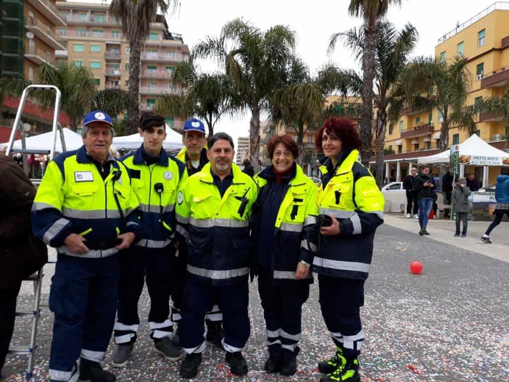 Ladispoli, la protezione civile presta assistenza al Carnevale