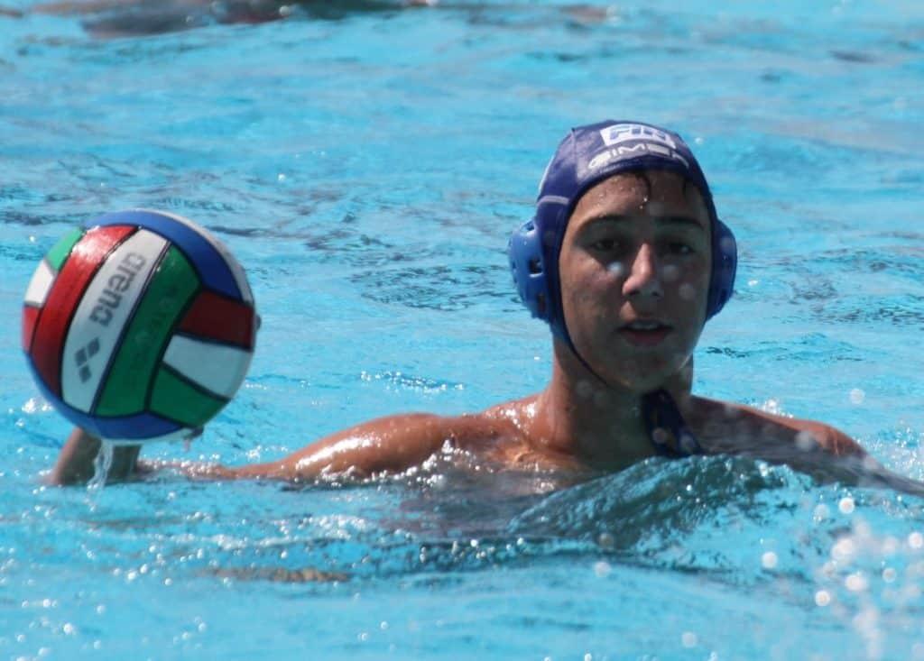 Convocazione in nazionale per il giovane pallanuotista di Cerveteri Alessandro Agnolet