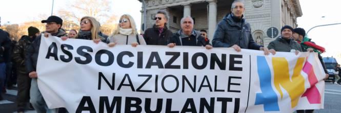 Associazione nazionale ambulanti: pronti a bloccare le strade della Capitale