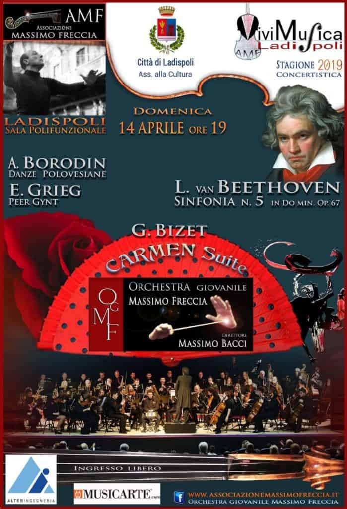 Ladispoli, dal 12 al 14 aprile musica classica con l'Orchestra Giovanile Massimo Freccia