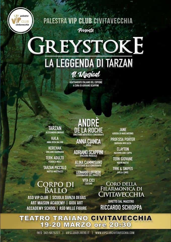 A Civitavecchia il musical Greystoke, la leggenda di Tarzan