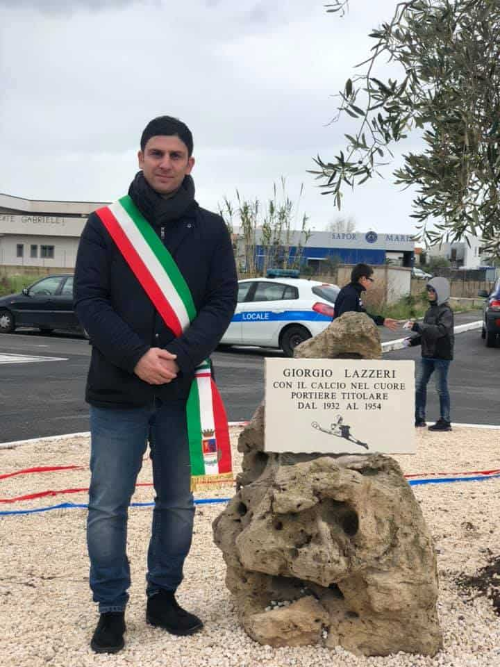Ladispoli, Giorgio Lazzeri ha il suo viale. Intitolato ieri mattina