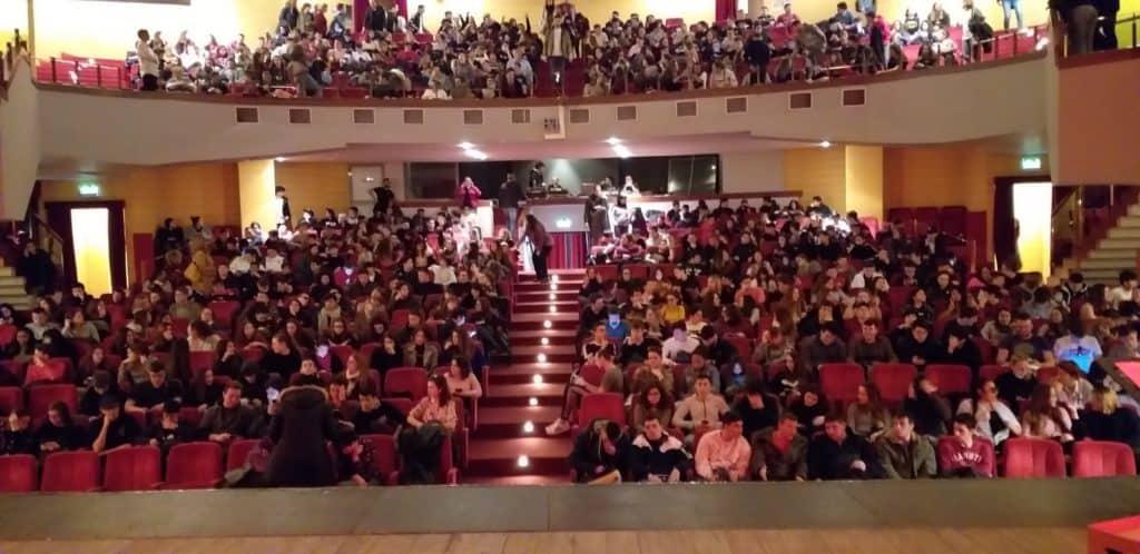 Ladispoli, gli studenti del Di Vittorio a teatro per riflettere sul tema legalità