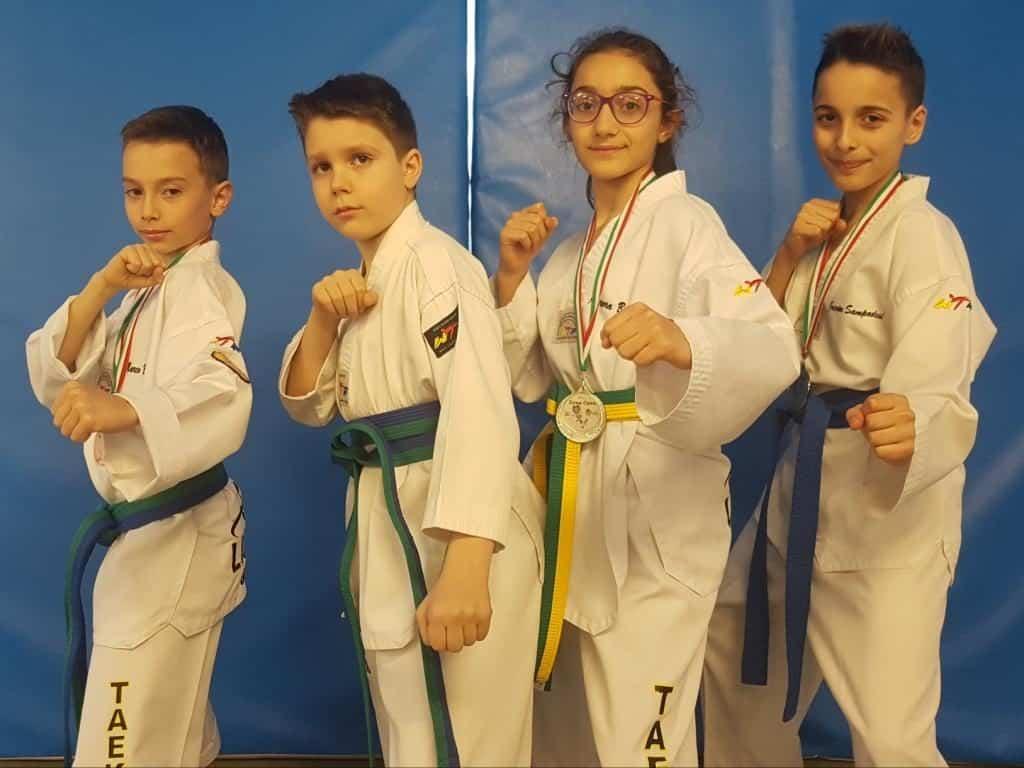 Altri successi per la scuola di Taekwondo del Centro Sportivo il Gabbiano di Ladispoli.