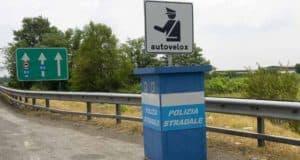 Autovelox, al via l'installazione in alcune zone del Lazio