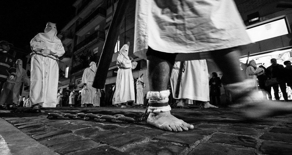 Civitavecchia, tutto pronto per la Processione del Cristo Morto (Mirko Prosseda Photography)