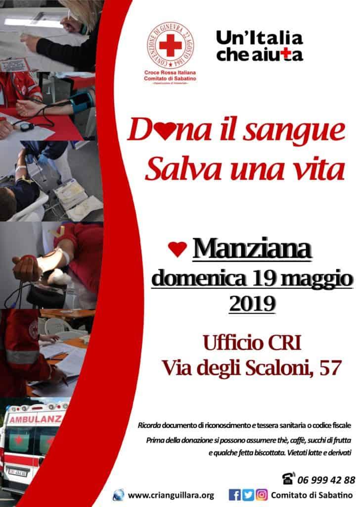 Croce Rossa, un mese pieno di iniziative quello del Comitato Sabatino