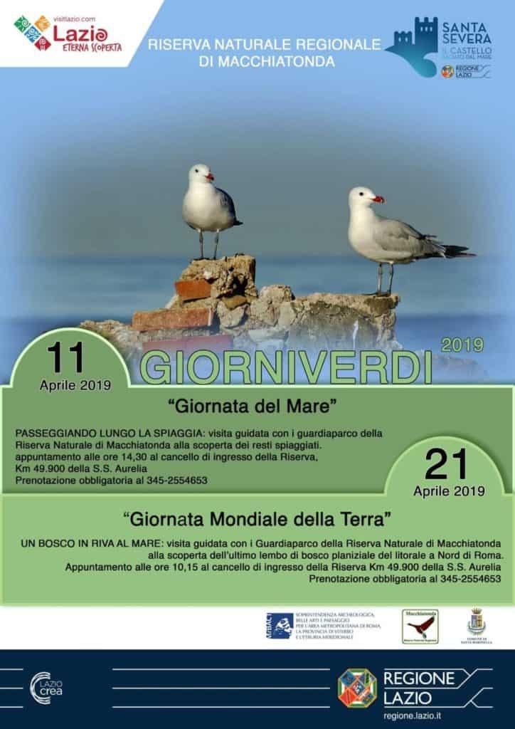 """""""Giorni Verdi"""", l'iniziativa della Riserva di Macchiatonda torna con due date"""