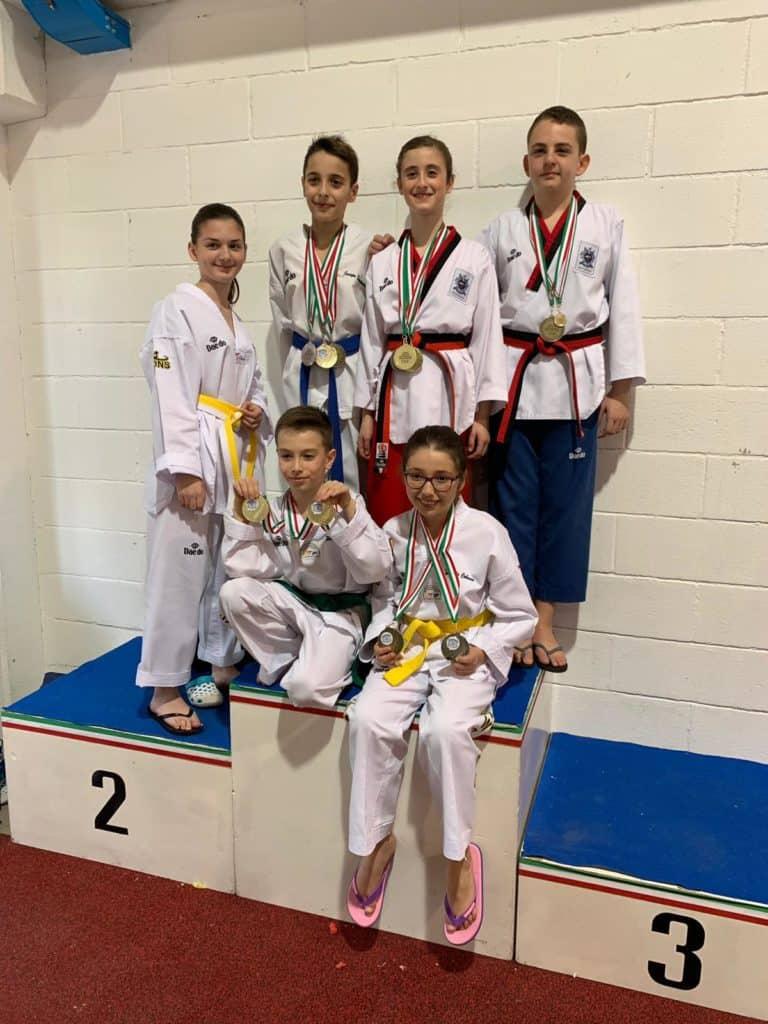 Taekwondo, ancora un successo per gli allievi della scuola de Il Gabbiano