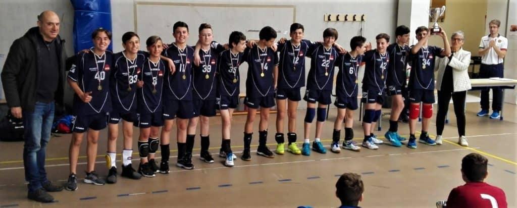 La melone campione regionale di volley nella categoria cadetti
