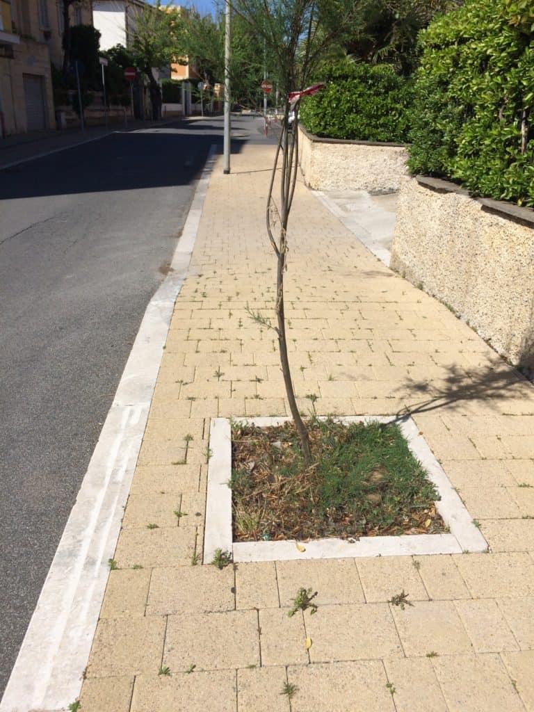 Marciapiede Santa Marinella