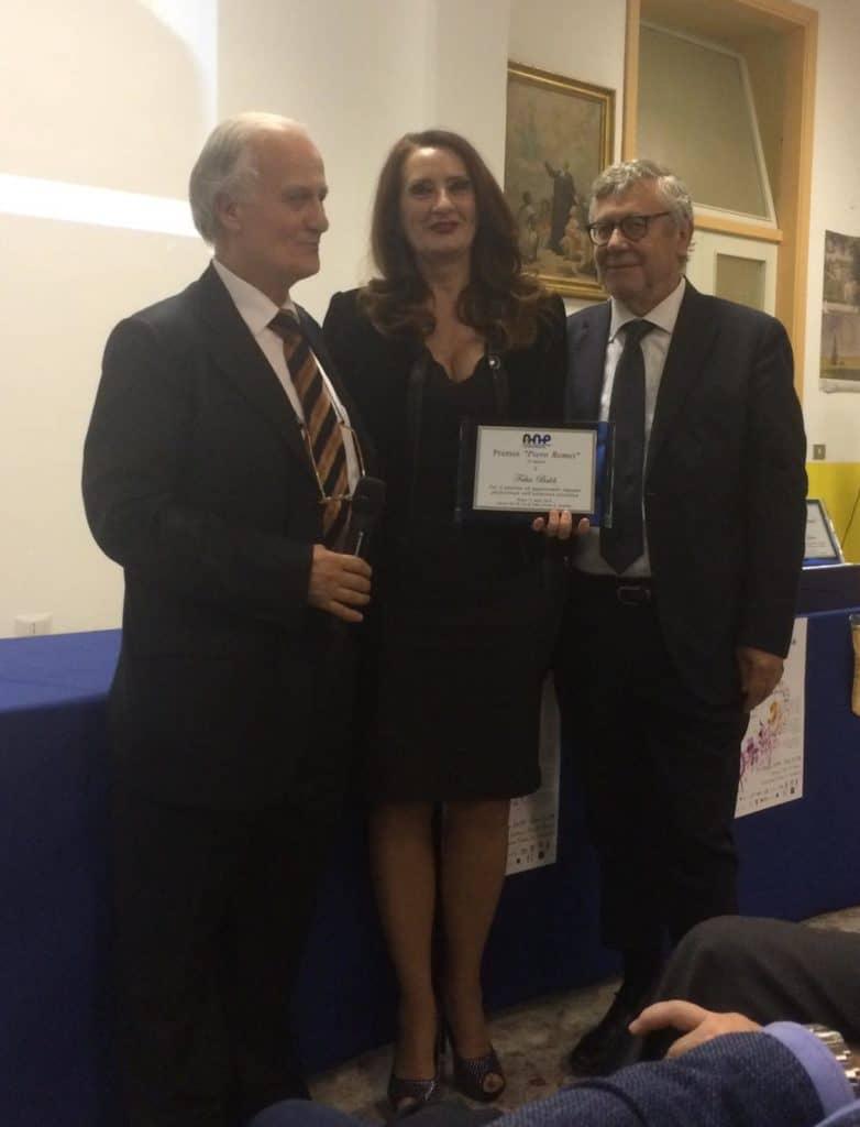 """Conferito il Premio """"Piero Romei"""" alla direttrice del liceo """"Pertini"""" Fabia Baldi"""