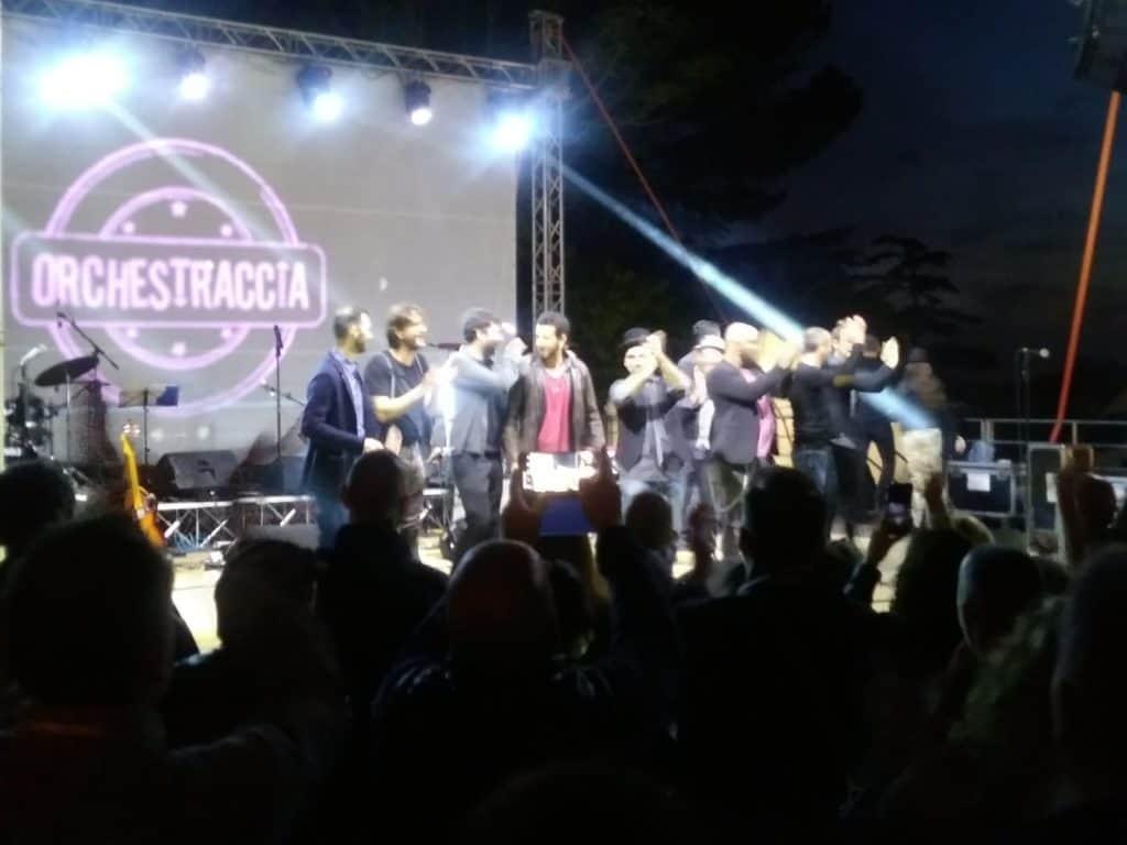 Cerveteri, boom di presenze per il concerto dell'Orchestraccia