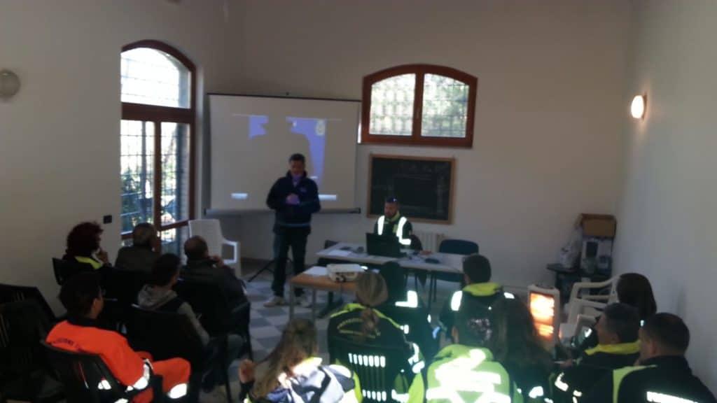 Cerveteri, Protezione Civile: un fine settimana dedicato alla formazione in territori ostili