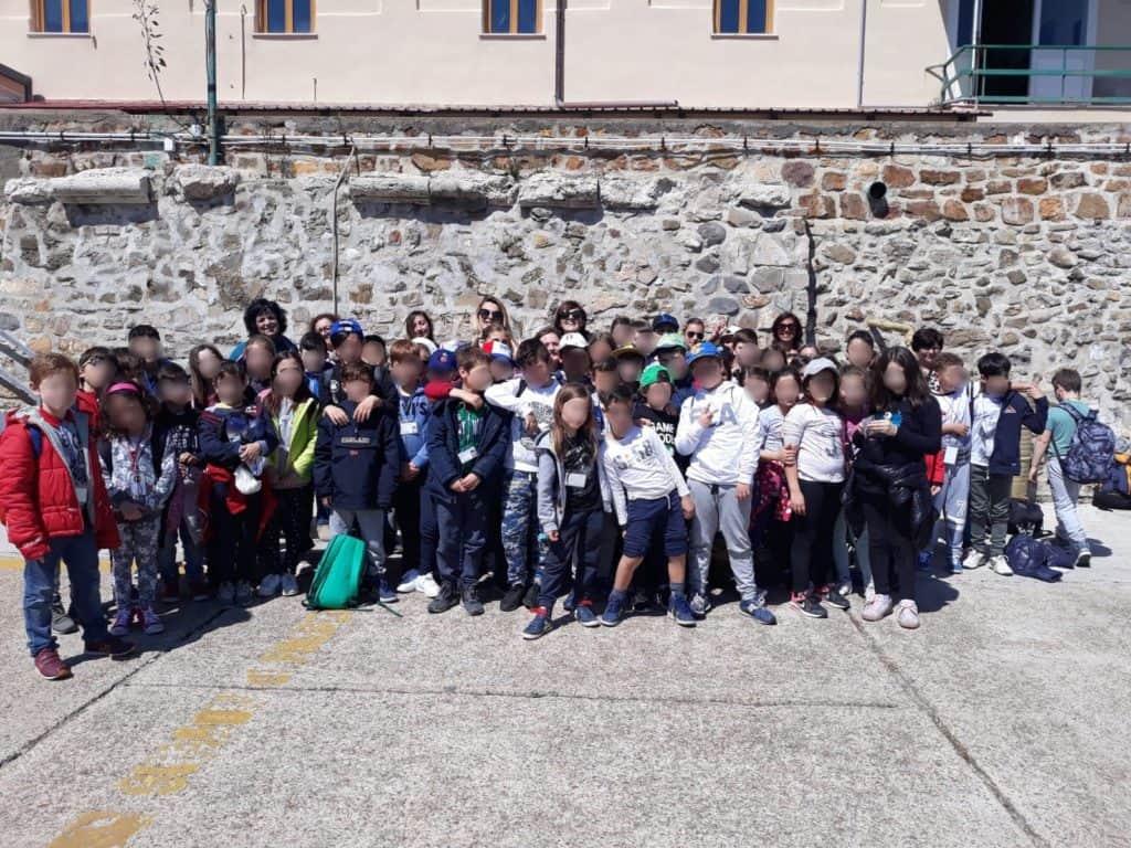 A Civitavecchia il gemellaggio con Amelia è reso più forte grazie ai bambini