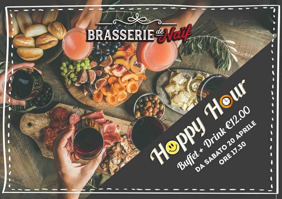 Happy Hour alla Brasserie!
