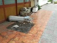 Ladispoli, hotel Messico nel degrado
