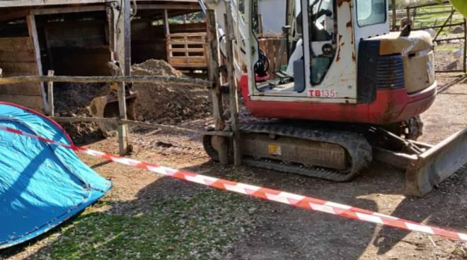 Inumazioni illegali di mucche in una fattoria didattica presso Ostia