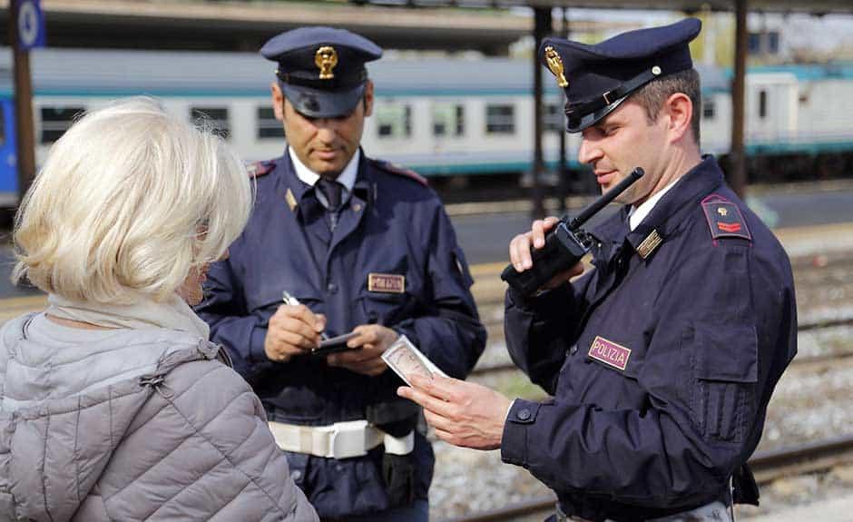 Controlli serrati della Polizia Ferroviaria