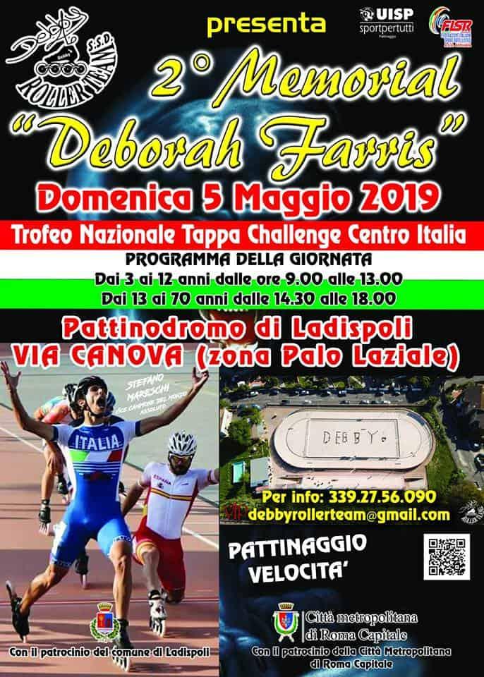 Ladispoli, torna il Memorial Deborah Farris
