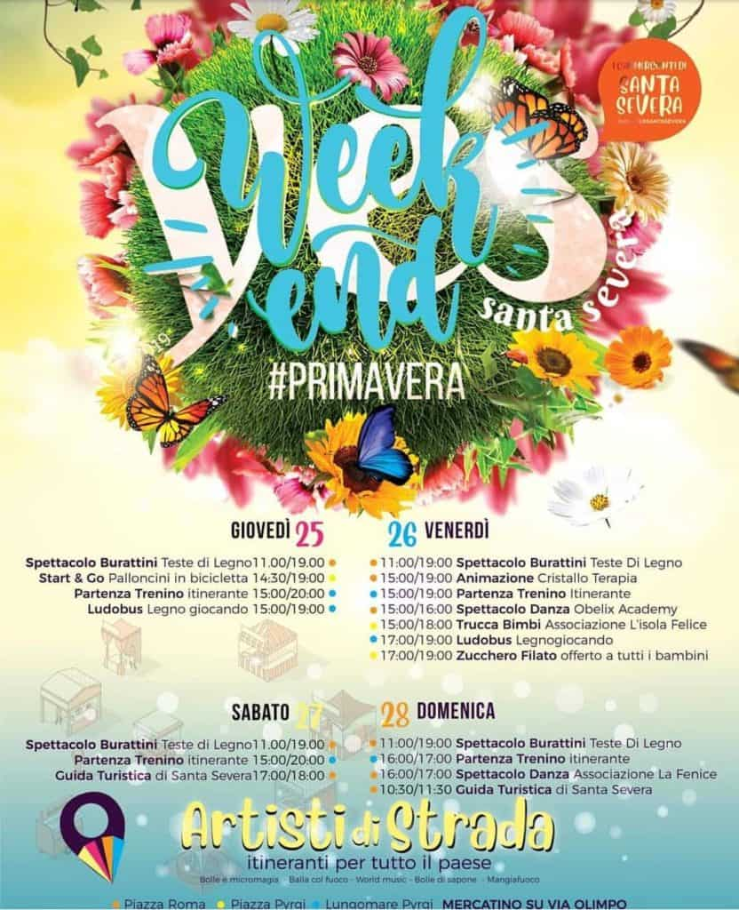 "A Santa Marinella ""Yes Weekend #Primavera"""