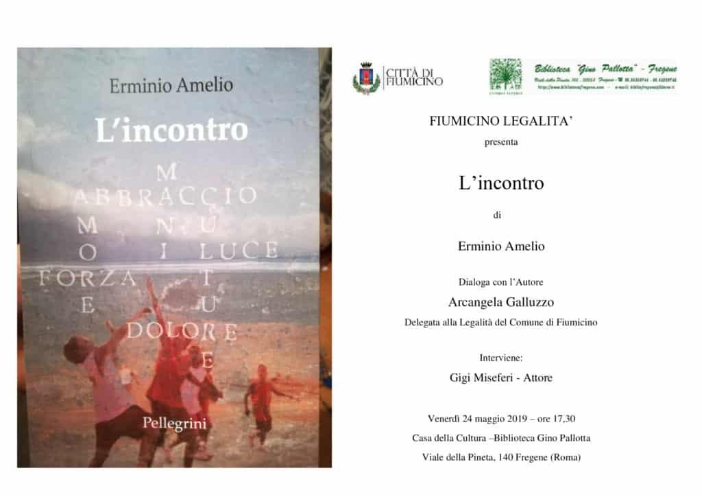 """Legalità, Galluzzo: """"Venerdì a Fregene incontro col magistrato Erminio Amelio"""""""
